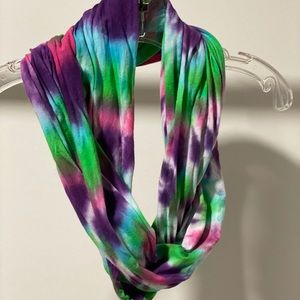 Hand Dyed Infinity Scarf